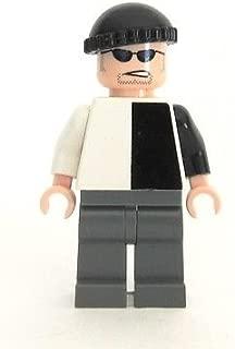LEGO Batman Two Face Henchman black white villain