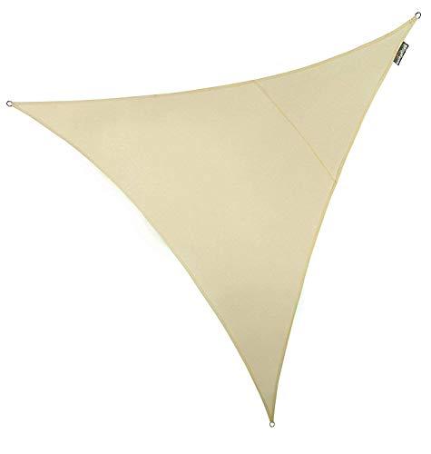 Kookaburra 5 m en forma de triángulo y tejido resistente al agua con marfil pantalla Sail parasol Garden