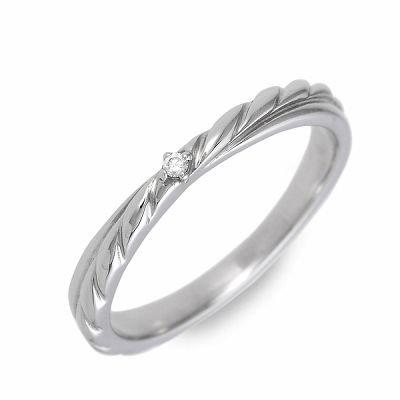 [フェフェ] リング 指輪 ダイヤモンド ホワイト レディース 12.0号 FE-269-12