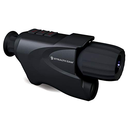 Stealth Cam Digital Night Vision Monocular with Intergrated Ir Filter for Day Use, Black, One Size