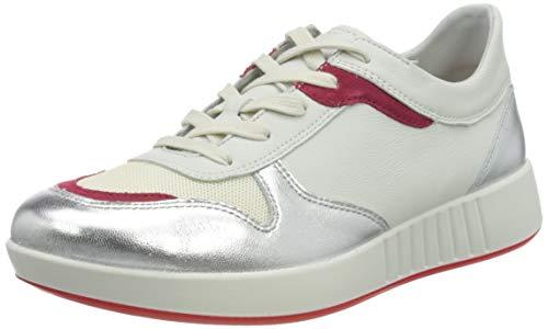 Legero Damen Essence Sneaker, Weiß (Offwhite multi 1300)), 37.5 EU (4.5 UK)