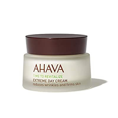 AHAVA Extreme Day Cream 50 ml Wrinkle Reducer and Skin Firmer from the Dead Sea for Women and Men [Face and Neck]