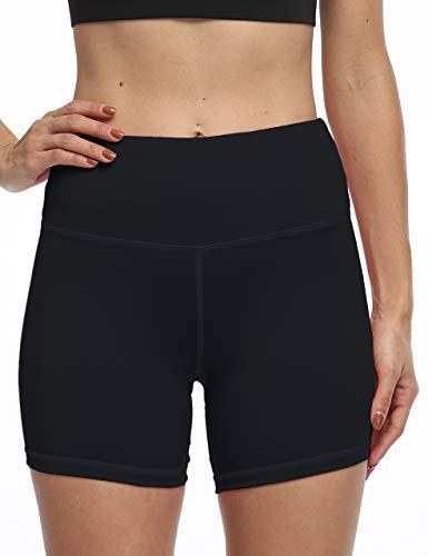 High Waist Tummy Control Workout Biker Running Yoga Shorts with Pockets for Women