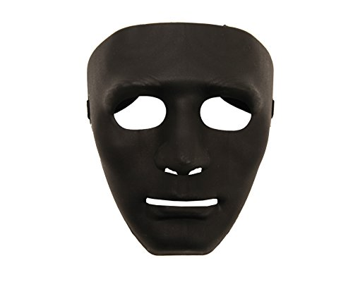 My Other Me Viving Costumes MOM01582 Masque Noir Taille Unique