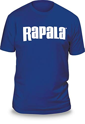 Rapala Camiseta Unisex RNLT9032L Next Level con Logo Azul Real/Blanco, L