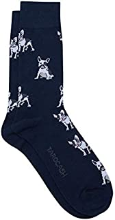 Tarocash Men's Bulldog Sock for Going Out Smart Occasionwear Formal