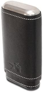 Xikar Envoy Leather Three Cigar Black Case by Xikar