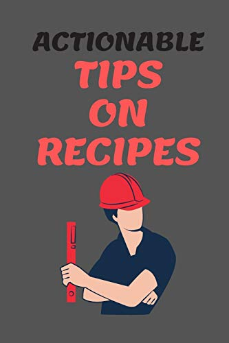 Best Prices! Actionable Tips on RECIPES: All Purpose  Recipes  6x9 Blank Lined Formated Cooking Not...
