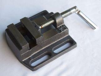 Preisvergleich Produktbild Maschinenschraubstock Schraubstock 65mm Stahlguss EXTRA MASSIV