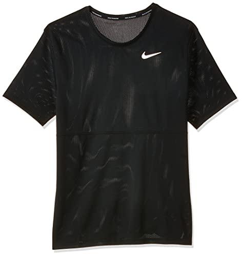 maglia nike running Nike M Nk Breathe Run Top SS T-Shirt