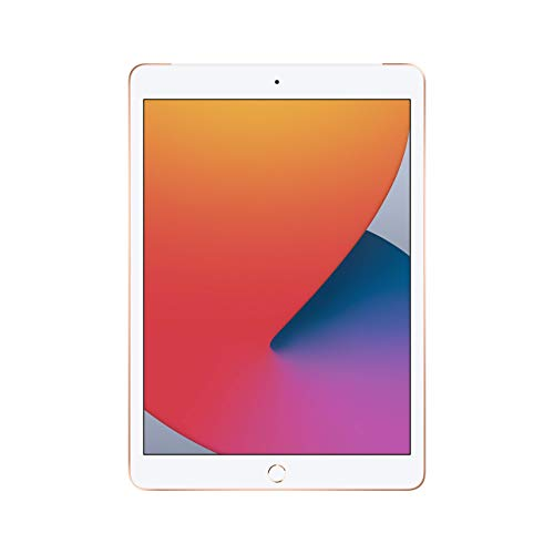 New Apple iPad (10.2-inch, Wi-Fi + Cellular, 32GB) - Gold (Latest Model, 8th Generation) (Renewed)