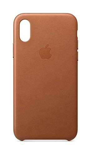 Apple Leder Case (Iphone Xs) - Sattelbraun