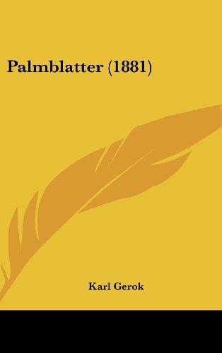 Palmblatter (1881)