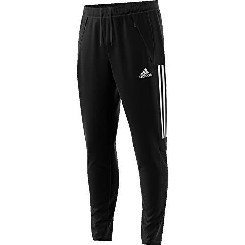 adidas Mens Con20 Tr PNT Track Pants, Black/White, 2XL