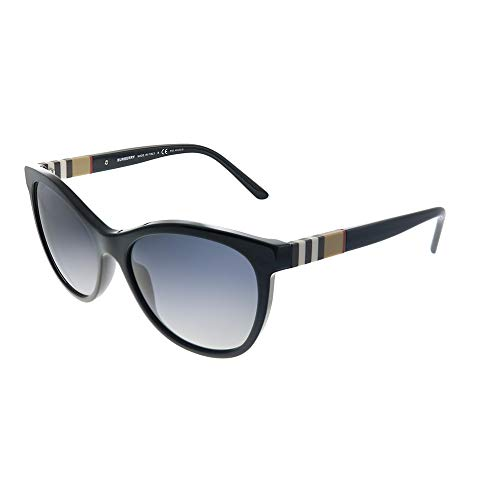 Burberry 0BE4199 3001T3 58 Gafas de sol, Negro (Black/Polargreygradient), Mujer