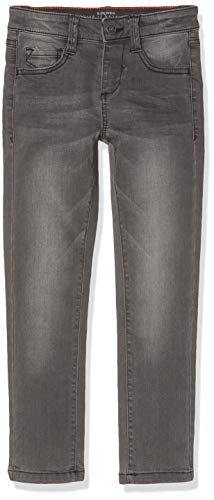 s.Oliver Junior Jungen 74.899.71.0530 Jeans, Schwarz (Grey/Black Denim Stretch 96z2), 134 (Herstellergröße: 134/REG)