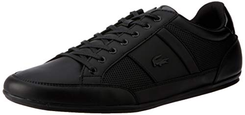 Lacoste Mens 737CMA009402H_49 Sneaker, Black, EU