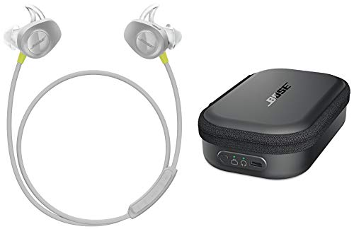 Bose SoundSport Transportetui mit Ladefunktion + Bose SoundSport wireless headphones - Citron