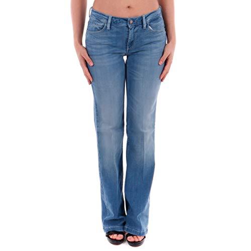 Guess Damen Sexy Boot Jeans, Blu, 31