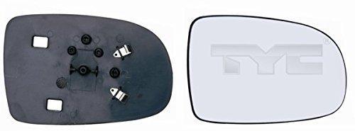 Spiegelglas rechts (Beifahrerseite) convex, nicht beheizbar für OPEL CORSA C Bj. 09/00-06/06 nur für manuelle Verstellung geeignet