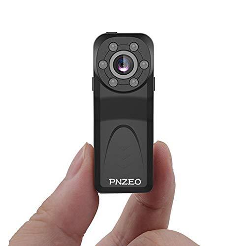 PNZEO PD6 Mini Camera 1080P HD IR Night-Vision 140