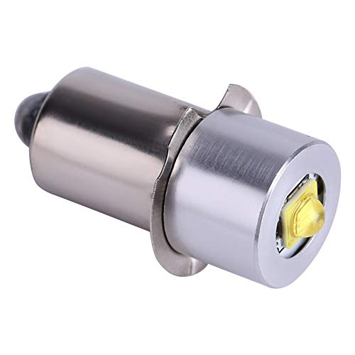 Atyhao 5W 6-24V P13.5S Hochhelle LED Upgrade Lampen, LED Konvertierung lampen Notlichtlampe Taschenlampe Ersatzlampen