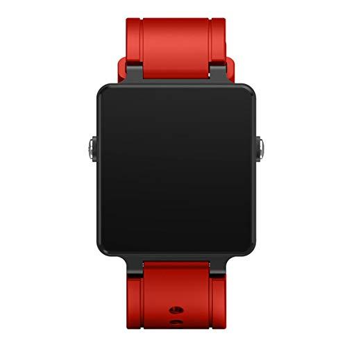 Heaviesk Smart Watch Wrist Band Weiches Silikon-Uhrenarmband als Ersatz für das Armband von Garmin Vivoactive