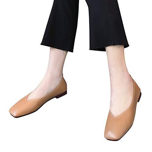 Zapatos De Mujer Hechos En China. Urban Redondo. Zapato De Piel De Ante Tacón Bajo Cómodo Despeje Talla Grande Temporada Incorrecta