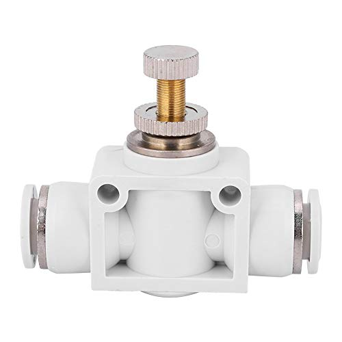 Tomantery Válvula de Control Conector del Acelerador Acoplamiento rápido Larga Vida útil para tubería de Aire(6)