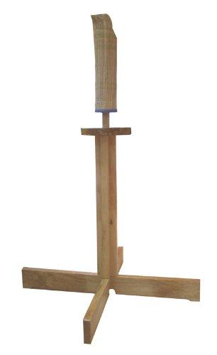 RYUJIN 35' Wooden Kendo Tameshigiri Practice Cutting Stand