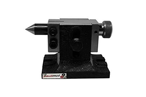 PAULIMOT Reitstock für Teilapparate, höhenverstellbar von 75 bis 90 mm