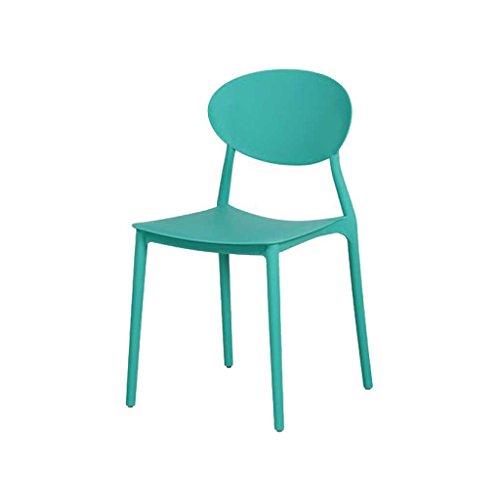 Zons Mega Chaise en PP empilable 48x48x81cm Vert