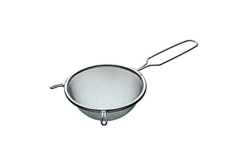 Kitchen Craft Rundes Abtropfsieb, verzinnt, 14cm