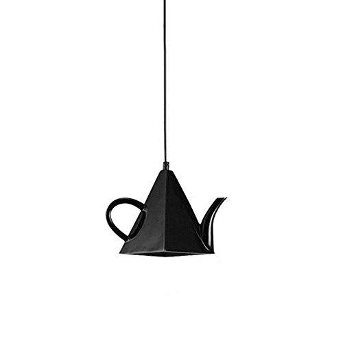 Hines 1-Light Einfache Teekanne LED Einstellbare Hängelampe Moderne Eisen Metall Deckenpendelleuchte Art Deco Lampe Kreative Eisen Kronleuchter Thema Restaurant Cafe Western Restaurant Pendelleuchte