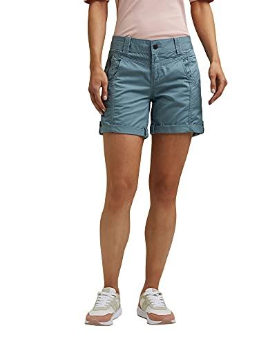 ESPRIT Damen 031EE1C324 Shorts, 420/GREY Blue, 42