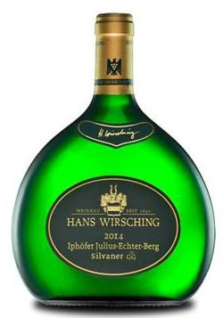 Iphöfer Julius-Echter-Berg Riesling VDP. Erste Lage tr. 2019, Hans Wirsching, trockener Weisswein im Bocksbeutel aus Franken