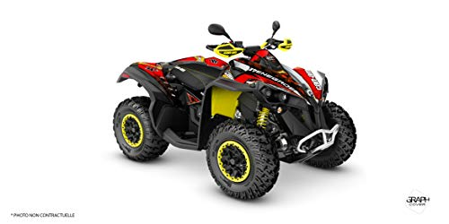 Kit Deco Quad Can-AM Renegade Masai rot