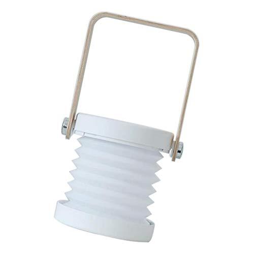 MERIGLARE Lámpara de Plegable con Luz de Noche LED Tradicional Lámpara Extensible de Escritorio USB