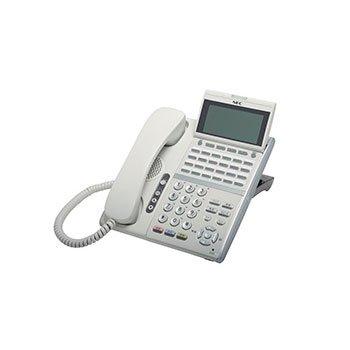 日本電気(NEC) Aspire UX 24ボタンISDN停電デジタル多機能電話機(ホワイト) DTZ-24PD-2D(WH)TEL