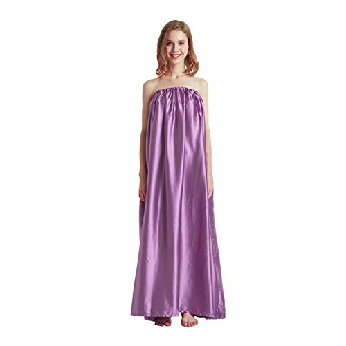 Buyfunny01 Steam Gown, Sauna Loose Gift Bath Robe, full body covering, soft and sleek fabric, eco-friendly,Sauna Steam Cloak for Home Fumigation Bathrobe,Spa Tent Body Therapy Steam Generator