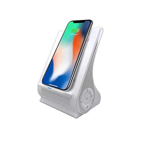 Save %15 Now! Azpen Dockall D101 Qi Wireless Charging Station (White)