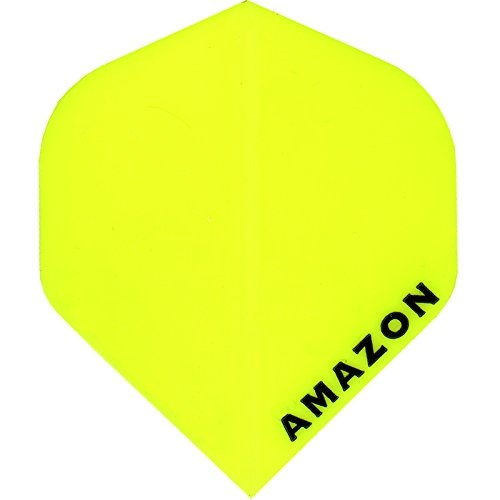 Dart Flights – Designa Amazon – 100 Mikron – STD – Gelb – 10 Sets (30)