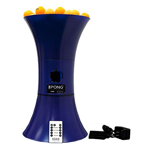 iPong Table Tennis Training Robot - Serves 40mm Regulation Ping Pong Balls Automatically - Play Solo...