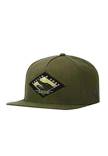 Cayler & Sons Unisex C&S CL Snap Cap Baseballkappe, Olive/mc, one Size
