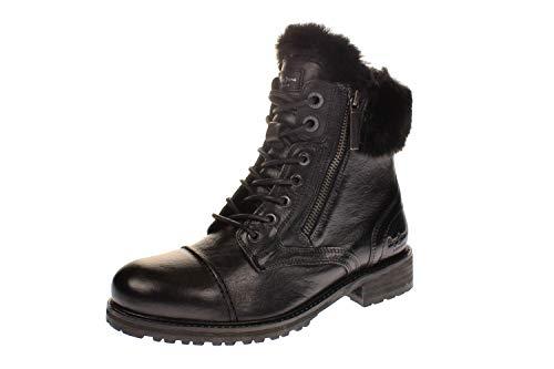 Pepe Jeans London Damen Melting Russ Desert Boots, Schwarz (Black 999), 40 EU