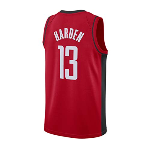 Hombre Ropa de Baloncesto NBA Houston Rockets 13# Harden 0# Westbrook Jersey Camiseta de Baloncesto