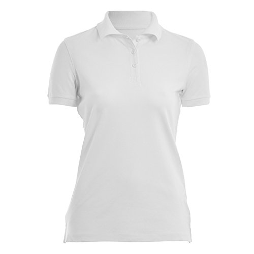 HRM Damen Heavy Stretch W Poloshirt, Weiß (White 02-White), XXX-Large