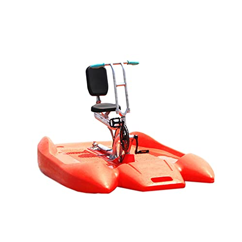 DUTUI Single Water Bike Dolphin Water Bike Water Tricycle Pedal Boat Electric Boat Exercise Bike Adult Excursion Paddle Canoe Ocean Lake