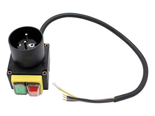 SECURA Schalter mit Stecker 230V kompatibel mit Hecht 6070 Holzspalter