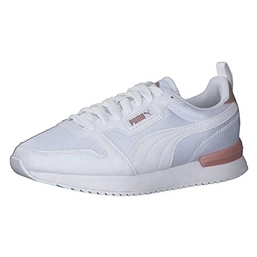 Puma R78 Wns Metalli, Zapatillas de Running Mujer, White-PU, 36 EU